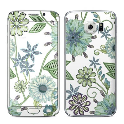 Samsung Galaxy S6 Edge Skin - Antique Nouveau