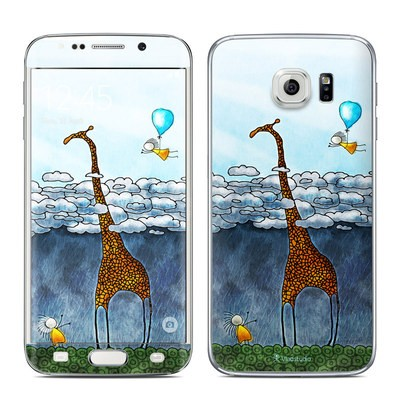 Samsung Galaxy S6 Edge Skin - Above The Clouds