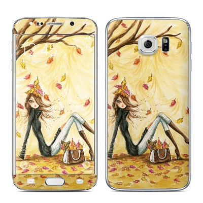 Samsung Galaxy S6 Edge Skin - Autumn Leaves