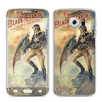 Samsung Galaxy S6 Edge Skin - The Black Baron