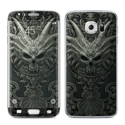 Samsung Galaxy S6 Edge Skin - Black Book