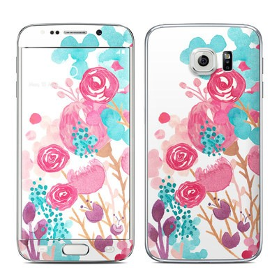 Samsung Galaxy S6 Edge Skin - Blush Blossoms