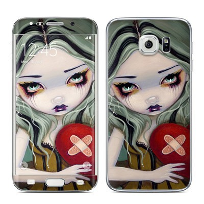 Samsung Galaxy S6 Edge Skin - Broken Heart
