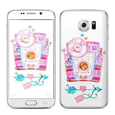 Samsung Galaxy S6 Edge Skin - Camera Shine