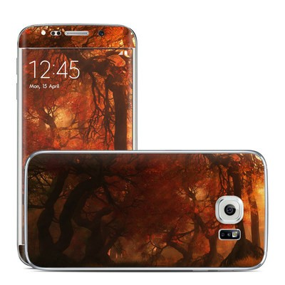 Samsung Galaxy S6 Edge Skin - Canopy Creek Autumn