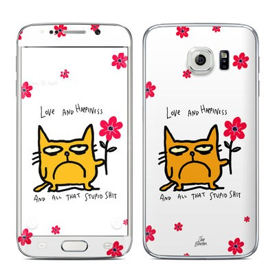 Samsung Galaxy S6 Edge Skin - Catwad Happy
