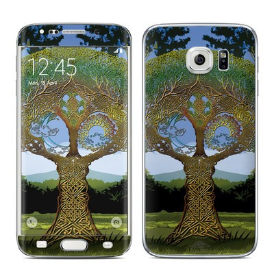 Samsung Galaxy S6 Edge Skin - Celtic Tree