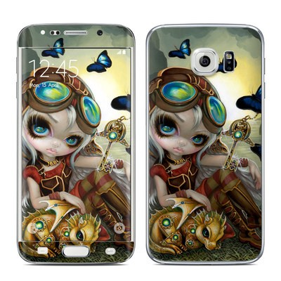 Samsung Galaxy S6 Edge Skin - Clockwork Dragonling