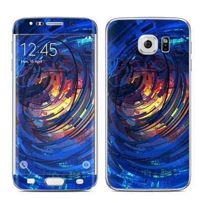 Samsung Galaxy S6 Edge Skin - Clockwork