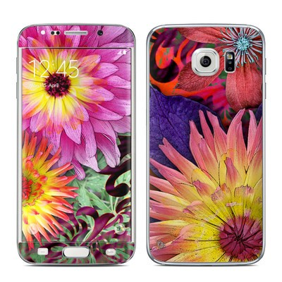 Samsung Galaxy S6 Edge Skin - Cosmic Damask