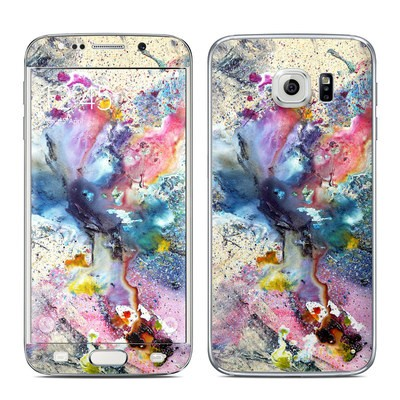 Samsung Galaxy S6 Edge Skin - Cosmic Flower