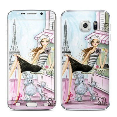 Samsung Galaxy S6 Edge Skin - Cafe Paris