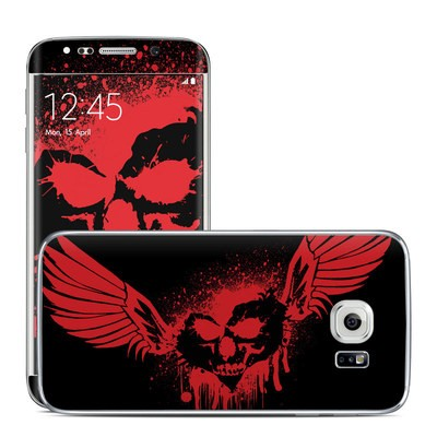 Samsung Galaxy S6 Edge Skin - Dark Heart Stains