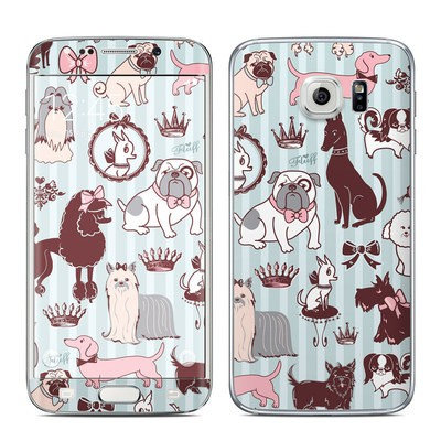 Samsung Galaxy S6 Edge Skin - Doggy Boudoir