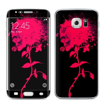Samsung Galaxy S6 Edge Skin - Dead Rose