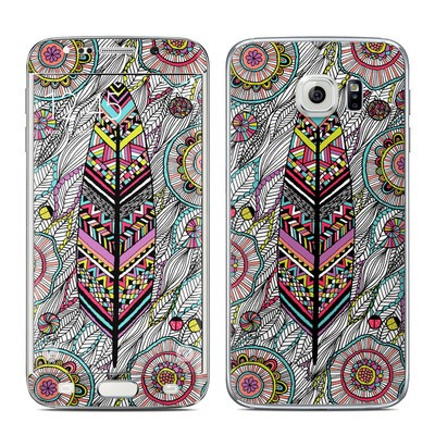 Samsung Galaxy S6 Edge Skin - Dream Feather