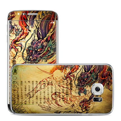 Samsung Galaxy S6 Edge Skin - Dragon Legend