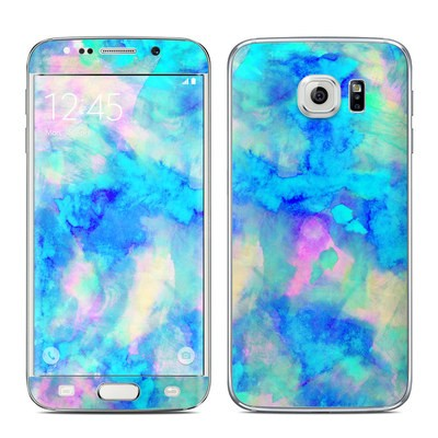 Samsung Galaxy S6 Edge Skin - Electrify Ice Blue