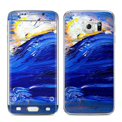 Samsung Galaxy S6 Edge Skin - Feeling Blue