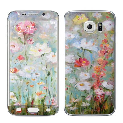 Samsung Galaxy S6 Edge Skin - Flower Blooms