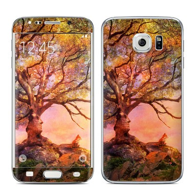 Samsung Galaxy S6 Edge Skin - Fox Sunset