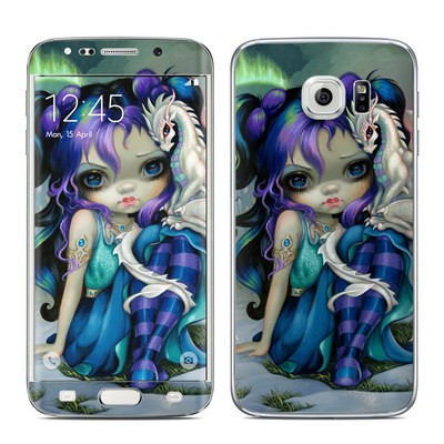 Samsung Galaxy S6 Edge Skin - Frost Dragonling