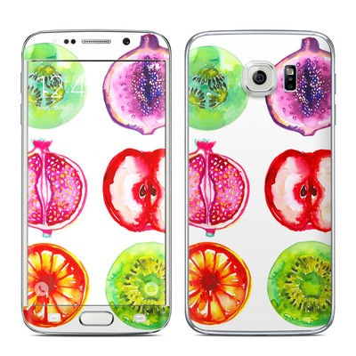 Samsung Galaxy S6 Edge Skin - Fruits