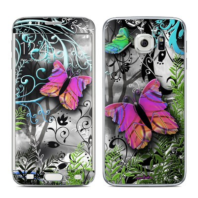 Samsung Galaxy S6 Edge Skin - Goth Forest