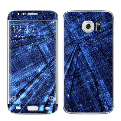 Samsung Galaxy S6 Edge Skin - Grid
