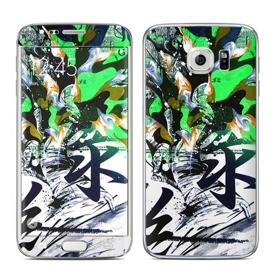 Samsung Galaxy S6 Edge Skin - Green 1