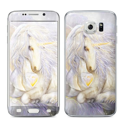 Samsung Galaxy S6 Edge Skin - Heart Of Unicorn