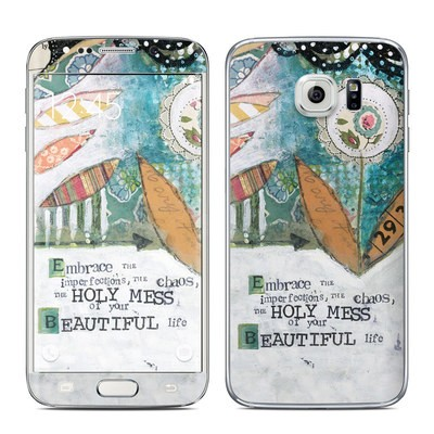 Samsung Galaxy S6 Edge Skin - Holy Mess
