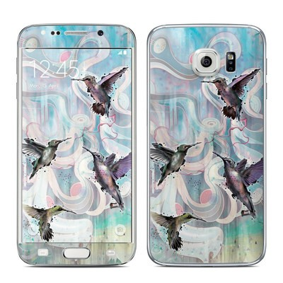 Samsung Galaxy S6 Edge Skin - Hummingbirds