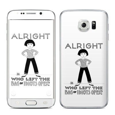 Samsung Galaxy S6 Edge Skin - Bag of Idiots