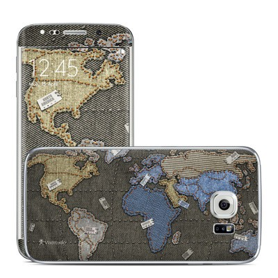 Samsung Galaxy S6 Edge Skin - Jean Map