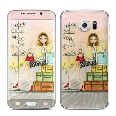 Samsung Galaxy S6 Edge Skin - The Jet Setter