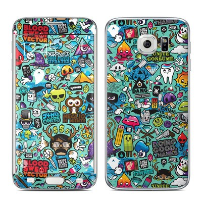 Samsung Galaxy S6 Edge Skin - Jewel Thief