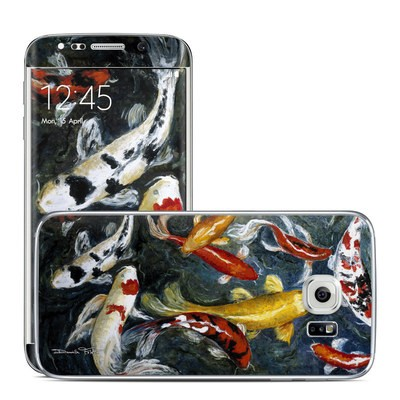 Samsung Galaxy S6 Edge Skin - Koi's Happiness