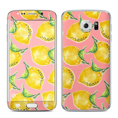 Samsung Galaxy S6 Edge Skin - Lemon