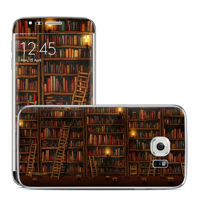 Samsung Galaxy S6 Edge Skin - Library