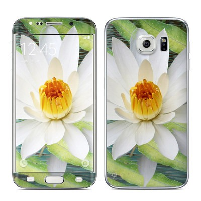 Samsung Galaxy S6 Edge Skin - Liquid Bloom