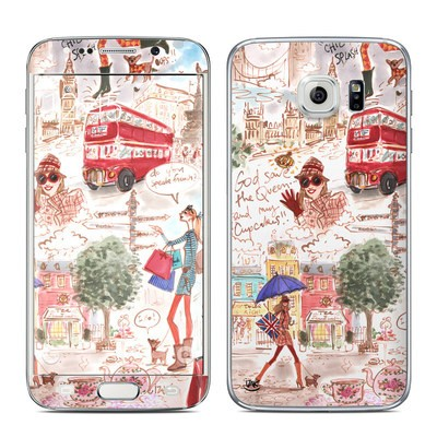 Samsung Galaxy S6 Edge Skin - London