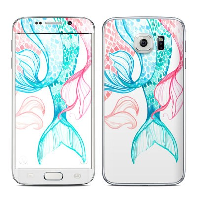 Samsung Galaxy S6 Edge Skin - Mermaid Tails