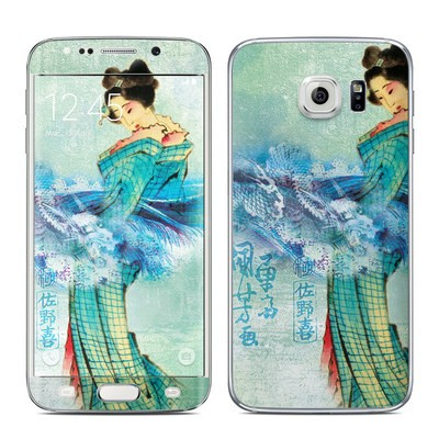 Samsung Galaxy S6 Edge Skin - Magic Wave
