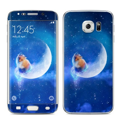 Samsung Galaxy S6 Edge Skin - Moon Fox
