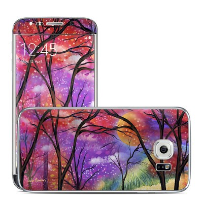 Samsung Galaxy S6 Edge Skin - Moon Meadow