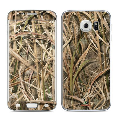 Samsung Galaxy S6 Edge Skin - Shadow Grass Blades