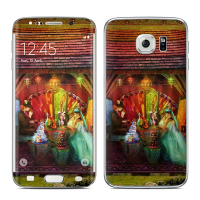 Samsung Galaxy S6 Edge Skin - A Mad Tea Party
