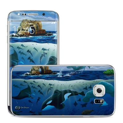 Samsung Galaxy S6 Edge Skin - Oceans For Youth