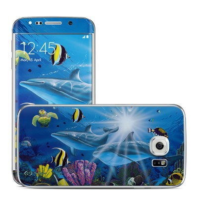 Samsung Galaxy S6 Edge Skin - Ocean Friends